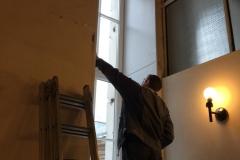 Доставка и монтаж оконных блоков на объекте по адресу наб.  Канала Грибоедова