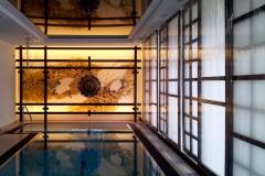 Оформление бассейна в японском стиле